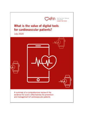 What is the value of digital tools for cardiovascular patients?